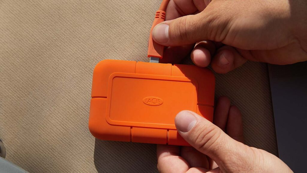 gifts for designers Lacie rugged-ssd