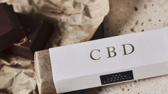 gifts for designers London botanis CBD Chololate