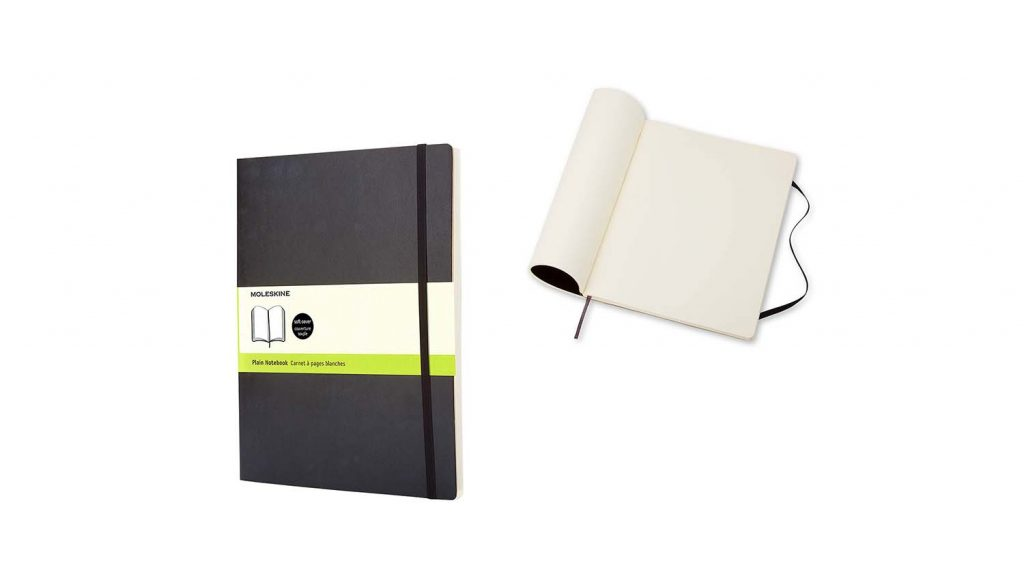 gifts for designers moleskine notepad