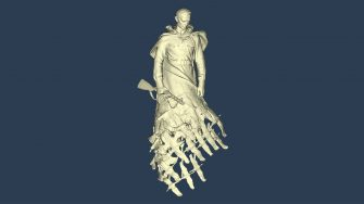rzev memorial sculpture 3D scan data