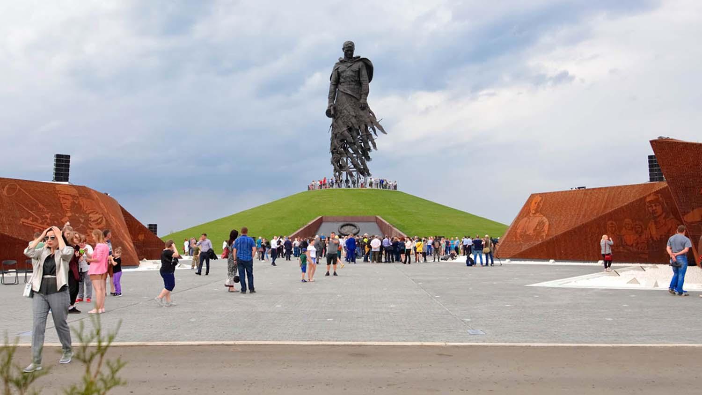 rzev memorial soldier monument