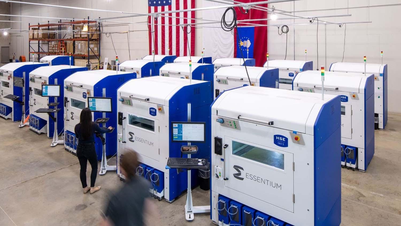 Essentium USAF additive manufacturing