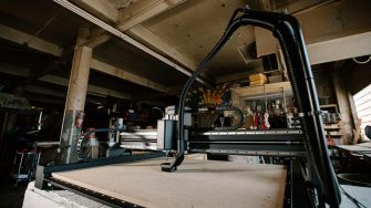 Inventables X-Carve Pro dust extractor