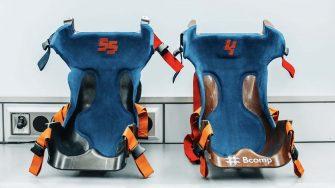 natural fibre McLaren f1 race seats