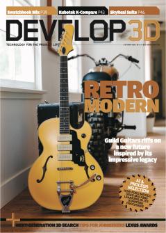DEVELOP3D Magazine October 2020 Guild Guitars