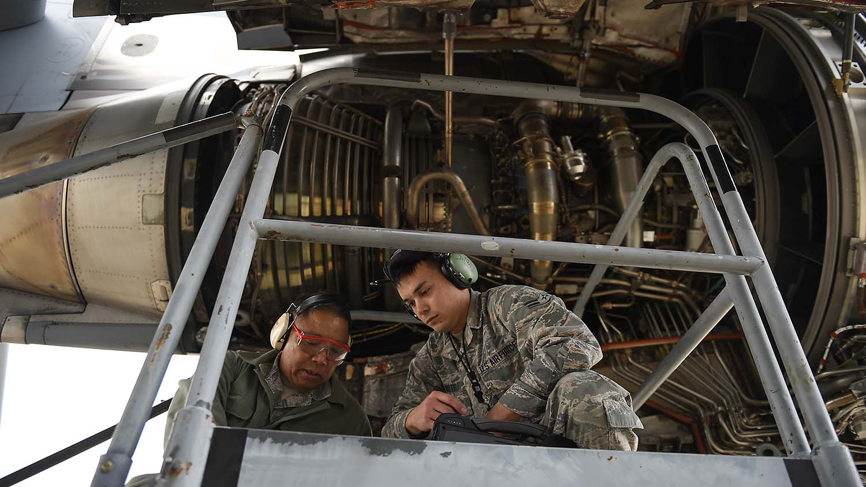 USAF additive manufacturing repairs