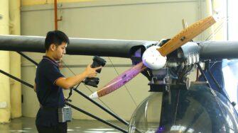 Marvelscan 3D Scanner aerospace