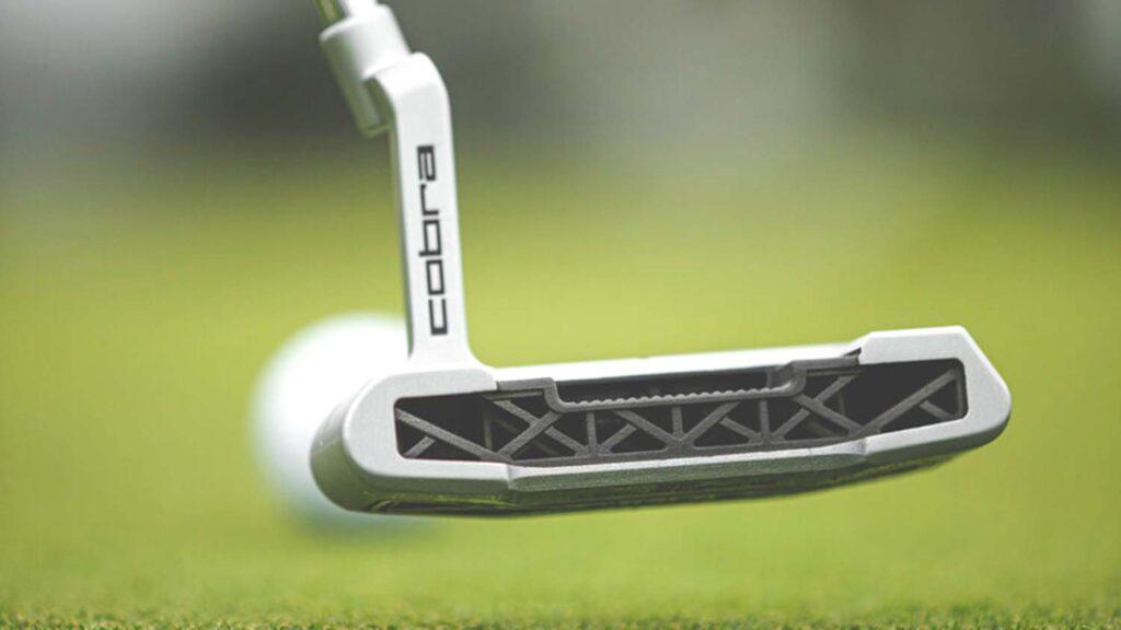 cobra golf 3d printed putter hp metal jet