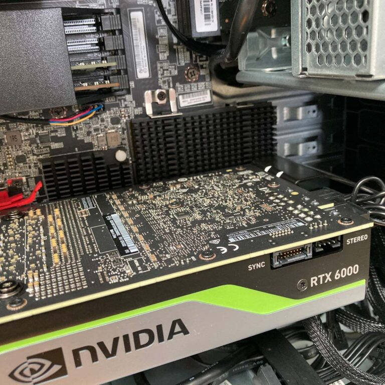 Lenovo ThinkStation P620 SSD-GPU