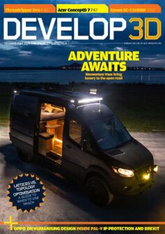 DEVELOP3D Magazine February 2021 Issue Momentum Vans