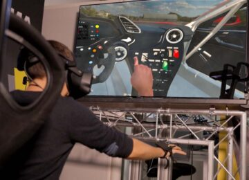 Ferrari HUD concept VR test
