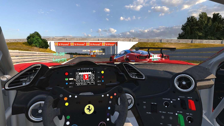 Ferrari HUD concept