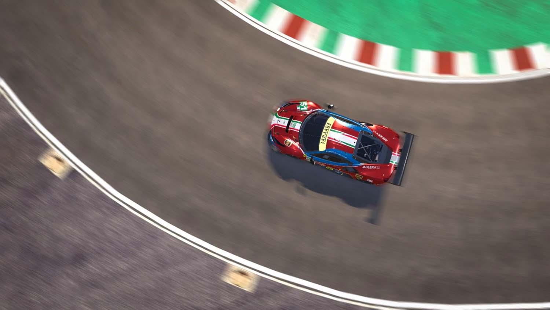 Ferrari HUD concept GT CAR