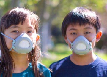 Respiratory mask for children