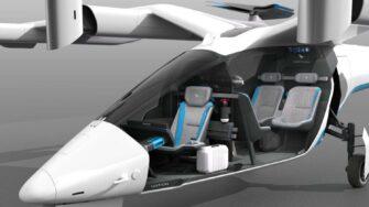 Vertical Aerospace Internal Seating