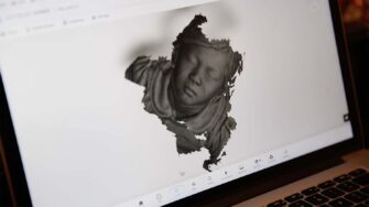 artec 3d scan for Respiratory mask for children