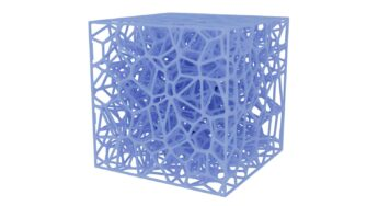 Topology optimisation lattice