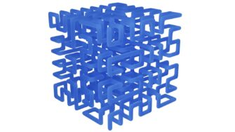 topology optimisatio hilbert lattice