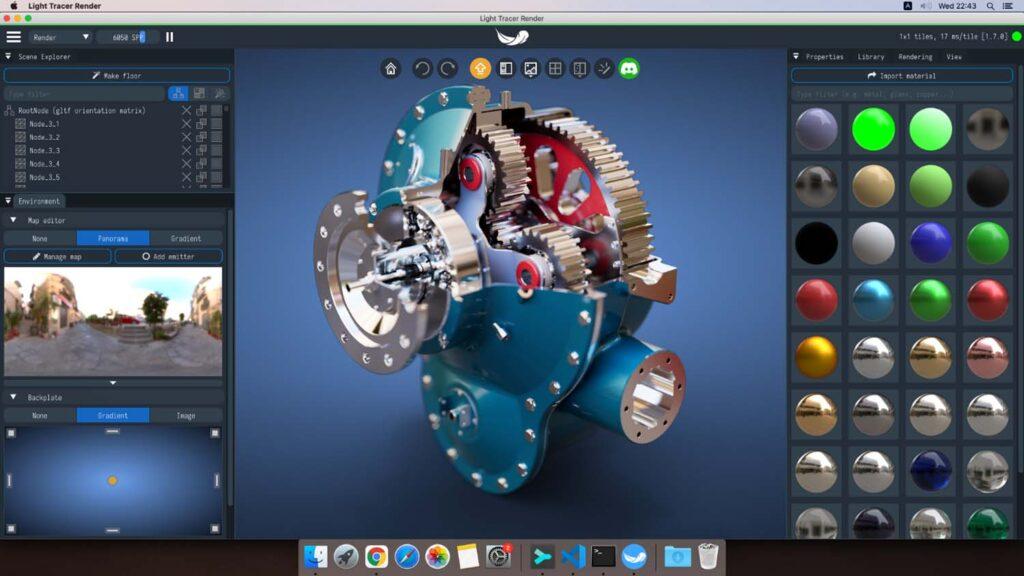Light Tracer Render 1.7 MAC