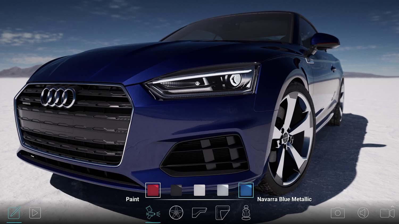 Unreal Engine Automotive Configurator