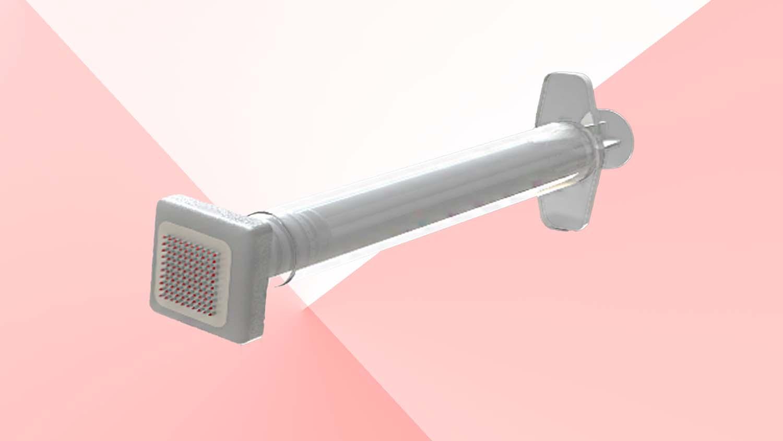 hybrid microneedle array BMF