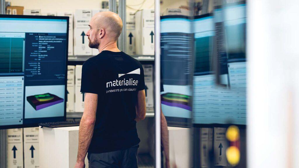 Materialise Link3D acquisition SAAS