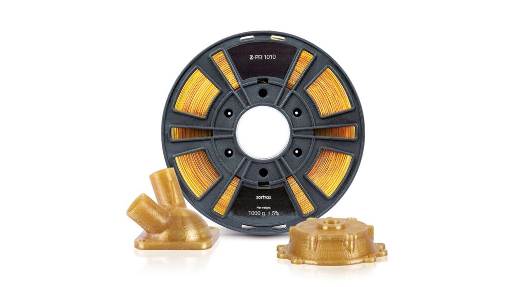 Z-PEI 1010 spool with models