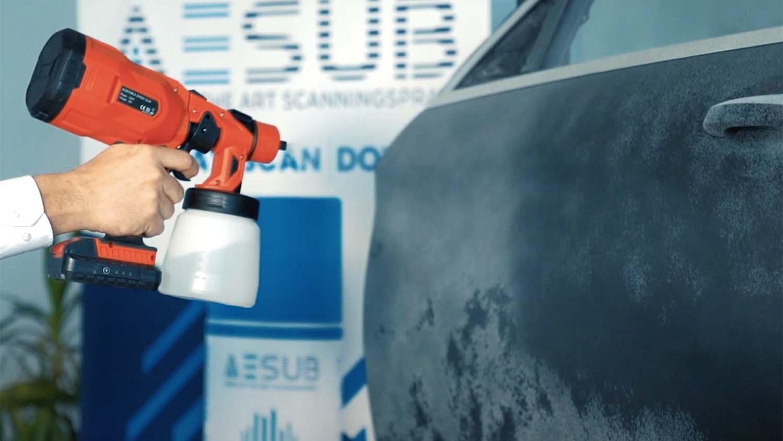 AESUB spray Green Automotive