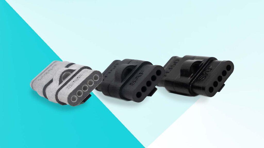 DyeMansion Stratasys SAFparts
