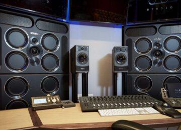 PMC AUDIO Studio QB1 set-up