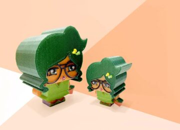 RIZE toys Little You Green Girls