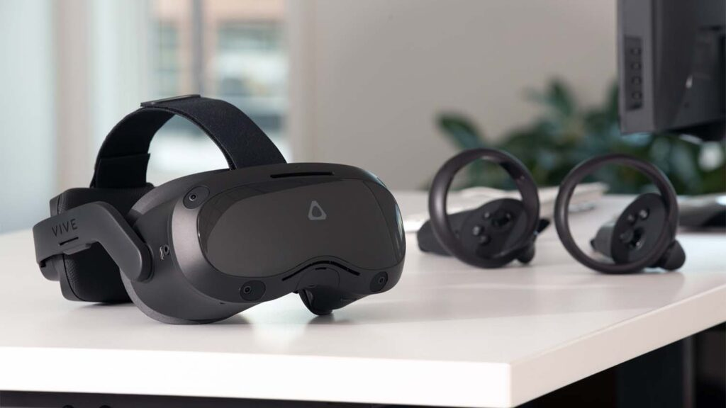 Vive Focus 3 and controllers