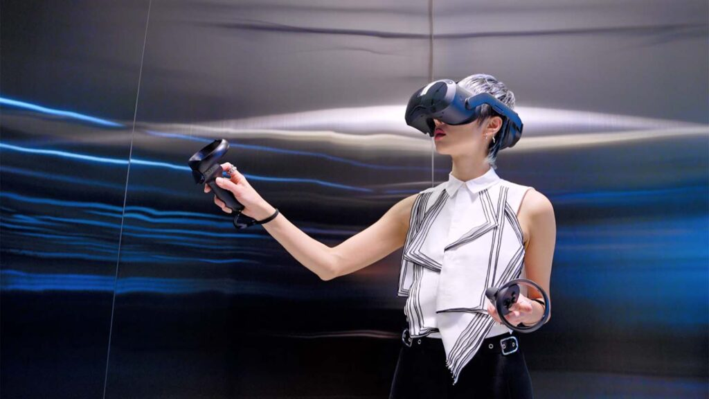 Vive Focus 3 in action