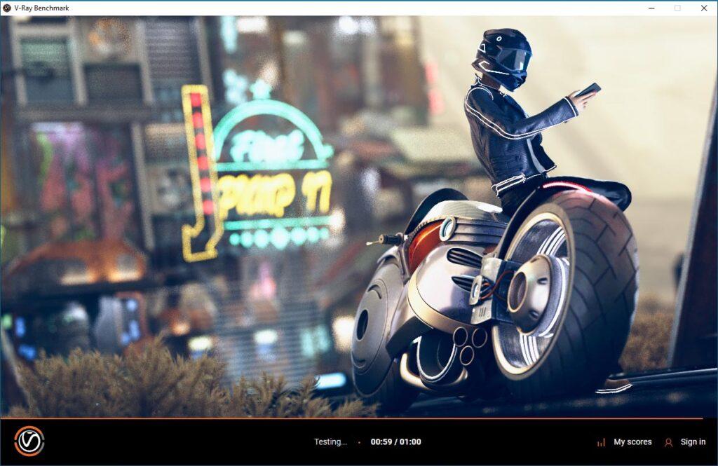 vray-GPU-rtx Nvidia RTX A4000 / RTX A5000 review