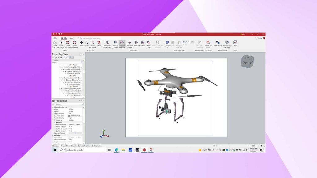 Envision Creator Interface canvas gfx