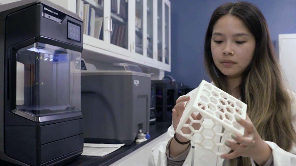Lockheed martin lunar rover Makerbot Method x