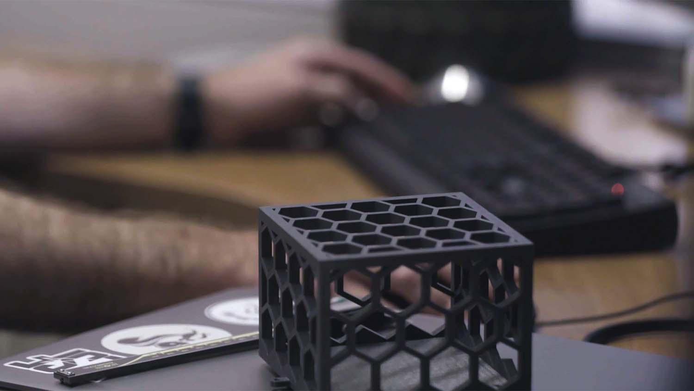 Lockheed Martin ATC test part Makerbot Method X