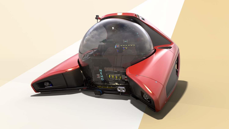 Solidworks 2022 - NEMO submarine Visualise render