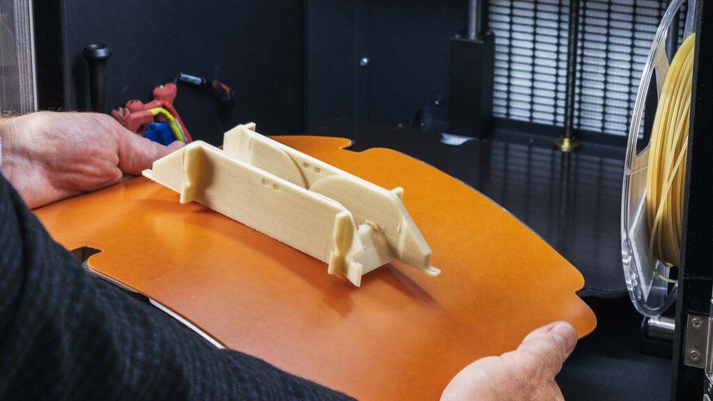 ZYYX Pro II 3D Printer printbed detail