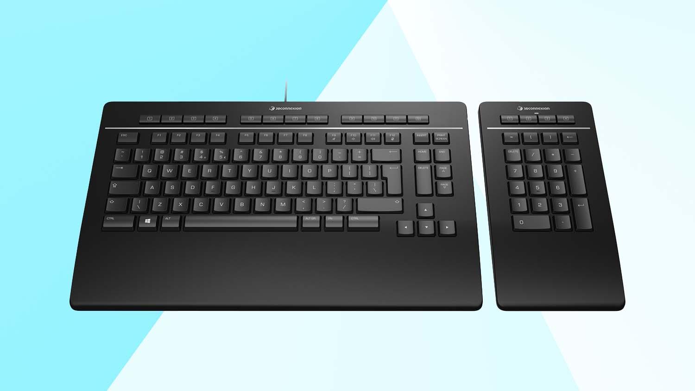 3Dconnexion numpad keyboard pro