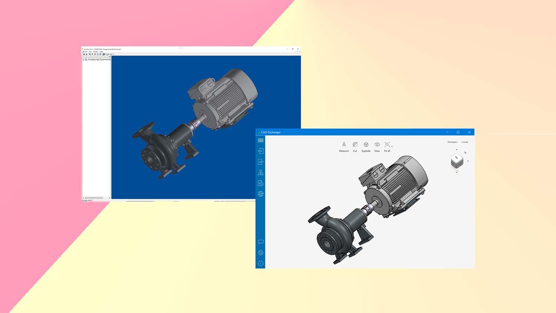 CAD Exchanger 3.10 Autodesk Inventor import in CAD Exchanger copy